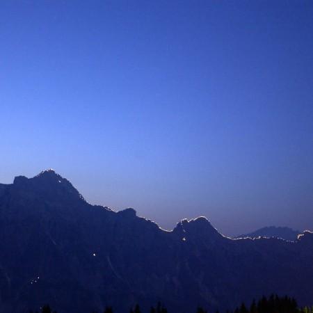Panorama Leoganger Steinberge