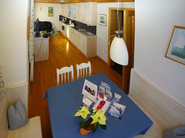 Appartement Asitz Essplatz mit Küche