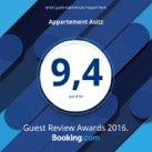 Booking.com Award 2016 q