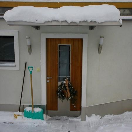 Appartement Asitz Eingang