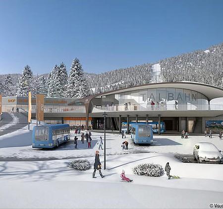 Steinbergbahn Winter