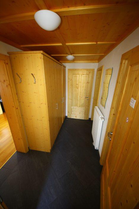 Vorraum im Appartement Asitz