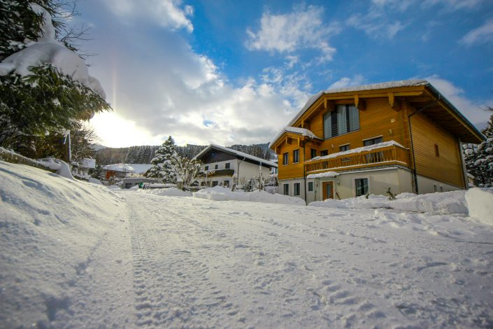 Appartement Asitz Winterpanorama
